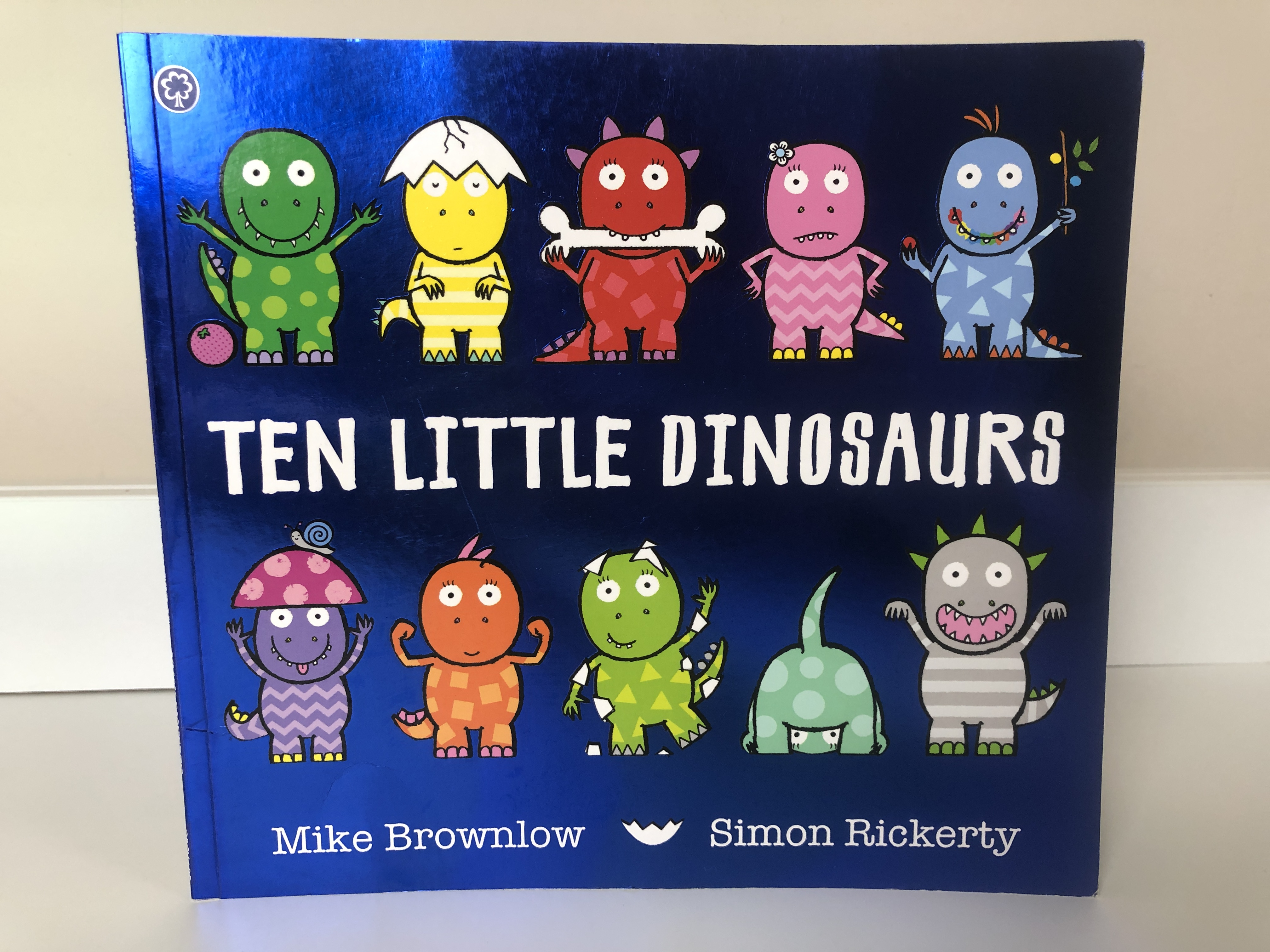 Ten Little Dinosaurs Book Review