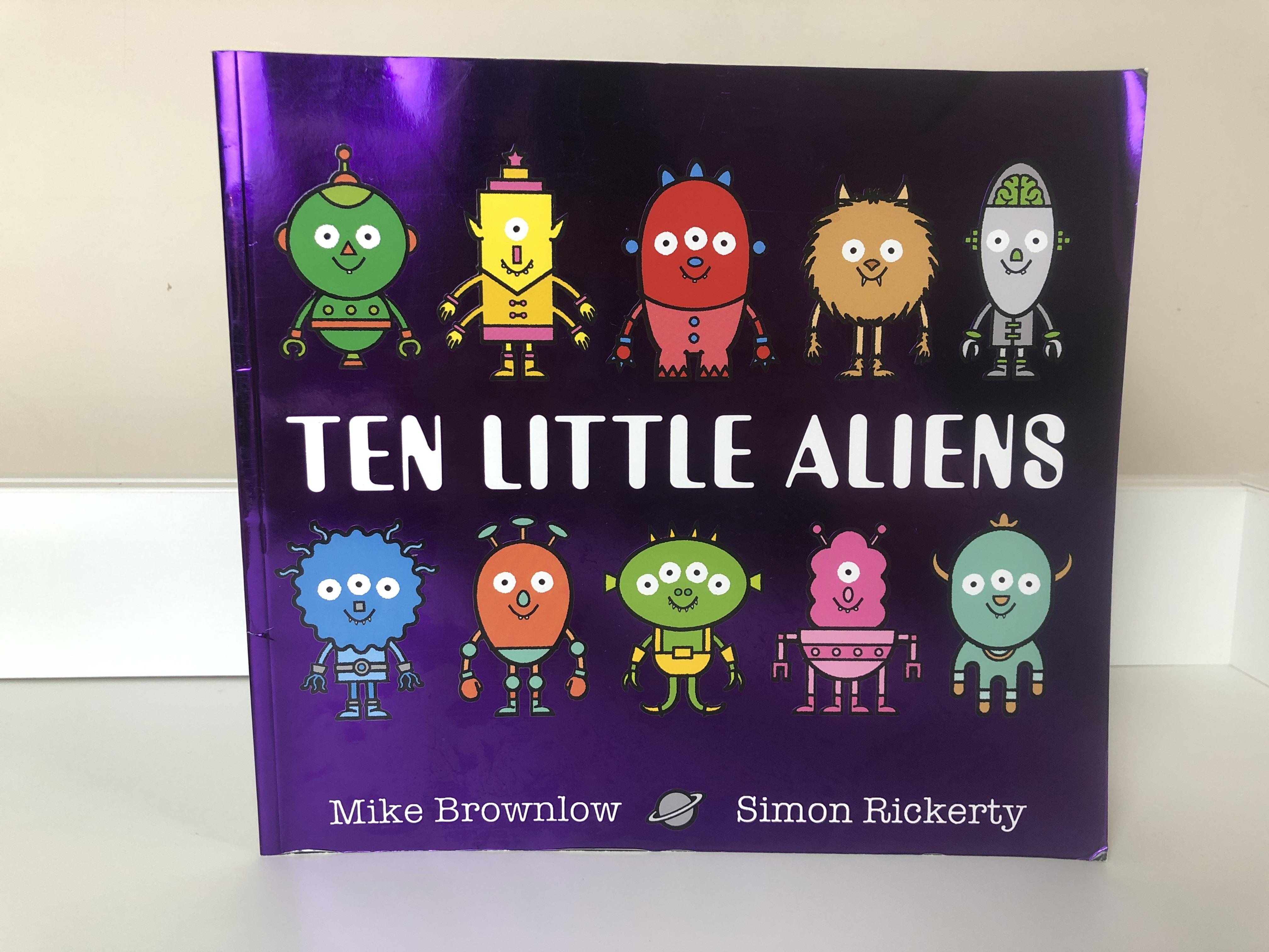Ten Little Aliens Book Review